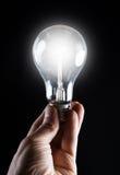 накаляя lightbulb Стоковое Фото