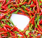 накаленная докрасна бумага chili для текстуры Стоковое фото RF