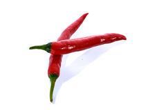 Накаленный докрасна перец chili 2 Стоковые Фото