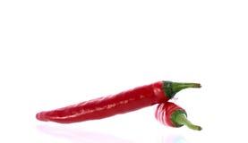 Накаленный докрасна перец chili 2 Стоковое Изображение