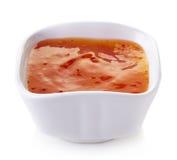 Накаленный докрасна соус перца чилей Стоковая Фотография RF