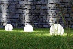 Накалять светлый в траве иллюстрация вектора