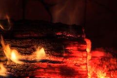 Накаляя имя пользователя умирая пожар Стоковое Изображение RF