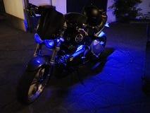 Накаляя мотоцикл Стоковые Фотографии RF