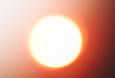 Накаляя предпосылка абстракции солнца Стоковое Изображение