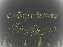Накаляя рождественская елка Стоковые Изображения RF