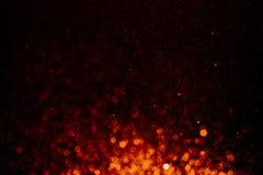 Накаляя свет предпосылки стоковые изображения rf