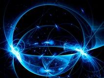 Накаляя сфера - изображение конспекта цифров произведенное бесплатная иллюстрация