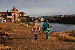 Накидка Южная Африка Альфреда порта восточная стоковое фото