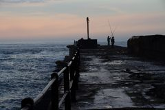 Накидка Южная Африка Альфреда порта восточная стоковое изображение rf