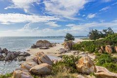 Накидка Ke Ga красивый headland в районе Thuan Nam ветчины, городе Phan Thiet, Вьетнаме Стоковое фото RF