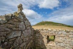 Накидка Корнуолл в Корнуолле Великобритании Англии Стоковая Фотография