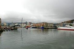 Накидка Южная Африка сцены гавани западная Стоковое Изображение RF