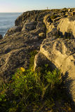 Накидка Carvoeiro Peniche Португалия Стоковая Фотография RF
