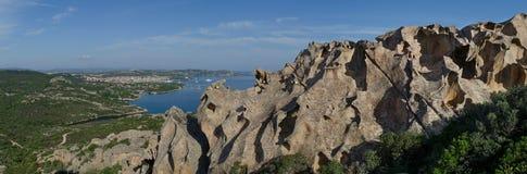 Накидка D Orso, Сардиния, Италия Стоковая Фотография