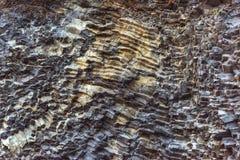Накидка Dyrholaey Исландия Reynisfyal гор текстуры Прикарпатский, Украина, Европа Стоковое Фото