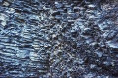 Накидка Dyrholaey Исландия Reynisfyal гор текстуры Прикарпатский, Украина, Европа Стоковая Фотография