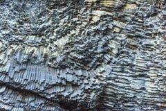 Накидка Dyrholaey Исландия Reynisfyal гор текстуры Прикарпатский, Украина, Европа Стоковое Изображение RF