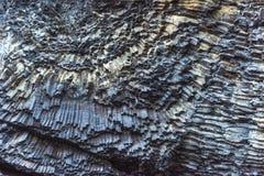 Накидка Dyrholaey Исландия Reynisfyal гор текстуры Прикарпатский, Украина, Европа Стоковые Изображения RF