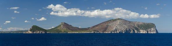 Накидка Figaro, Сардиния, Италия Стоковое Фото