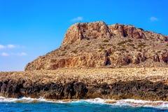 Накидка Greco, также известное как Cavo Greco Район Famagusta, Кипр Стоковое фото RF