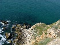 Накидка Kaliakra, на Чёрном море стоковые фото