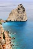 Накидка Keri, остров Закинфа, Греция Стоковые Изображения RF