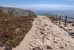 Накидка Roca (Cabo da Roca) Стоковая Фотография