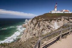 Накидка Roca (Cabo da Roca) Стоковые Фотографии RF
