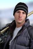 наклоны лыжи стоковая фотография