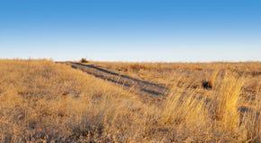 наклонять левой дороги просто малый Стоковая Фотография