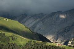 Наклон стены и холма горы Стоковые Фотографии RF