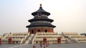 Наклон утра к Temple of Heaven в Пекине видеоматериал