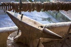 Наковальня и подковы Стоковое фото RF