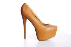 накрените высокий ботинок Стоковая Фотография RF