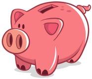 накрените piggy Стоковые Изображения RF