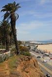 Накладные расходы в Санта-Моника Стоковые Фотографии RF