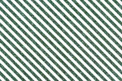 Наклоненные зеленые glittery линии Стоковые Фотографии RF