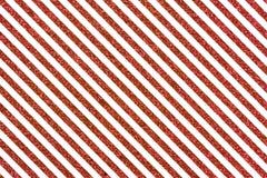 Наклоненные красные glittery линии Стоковая Фотография RF