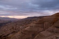 Наклоны долины Arnon Стоковое Изображение