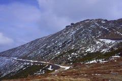 Наклон и укрытие горы в гигантских горах Стоковые Фотографии RF