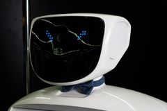 наличия cyborg бионическая персона Стоковое Изображение