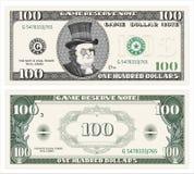 Наличные деньги, доллар иллюстрация вектора