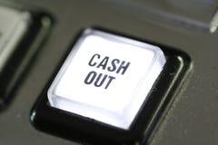 наличные деньги кнопки вне Стоковые Фото