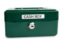 наличные деньги коробки Стоковое Изображение