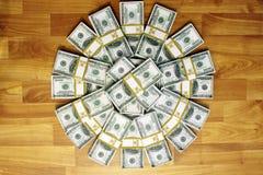 наличные деньги пачек Стоковые Фото