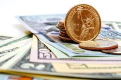 Наличные деньги США доллара Стоковая Фотография RF