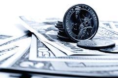 Наличные деньги США доллара Стоковые Изображения RF