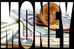 Наличные деньги США доллара Стоковое Фото
