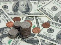 наличные деньги трудные Стоковая Фотография RF